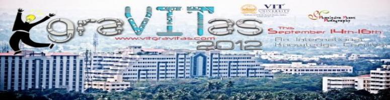 GRAVITAS 2012 = National level Technical fest, Management fest, Workshop