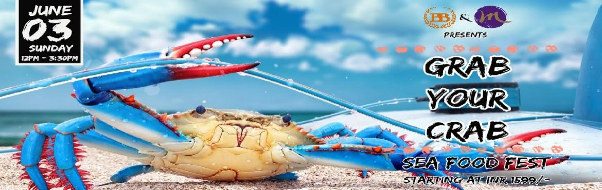 Book Online Tickets for Grab Your Crab - Sea Food Fest, Bengaluru. It is worth the excitement of eating fresh meat at such reasonable rates and enjoying the sea food cooked by the pool side on the foot tapping songs. Hop inside the pool of sit by the pool side with a glass of wine and some grilled prows, what