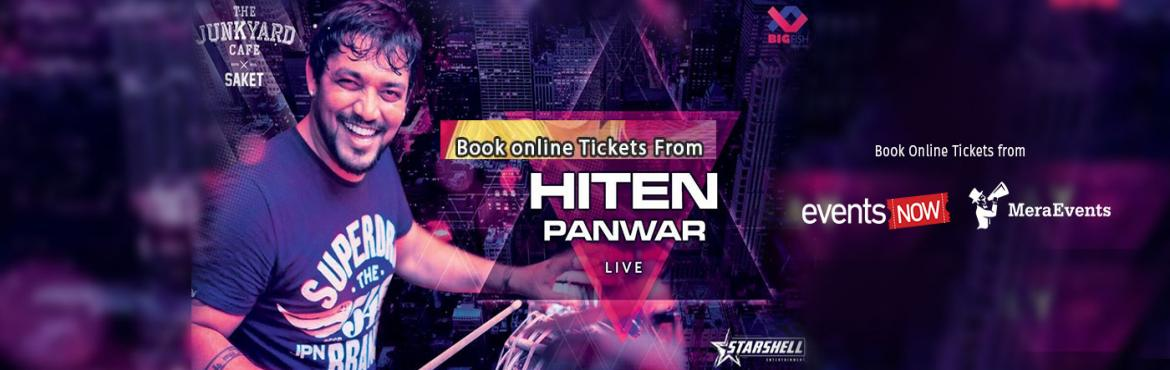 Book Online Tickets for Hiten Pawar Live , New Delhi. Hiten Panwar, the renowned percussionist is once again ready to take you over with a sensational performance at Junkyard Café, Saket on 26th May 2018, 8pm onwards. A rare instrumentalist known for his versatility and ability to play