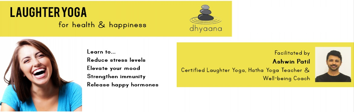Book Online Tickets for Laughter Yoga for Health and Happiness, Bengaluru. Lots of laughter every day keeps the doctor away. Release endorphins or happy hormones, elevate your mood and boost the immune system through this fun Laughter Yoga session!Everyone wants health and happiness in their lives. But instead, they are get