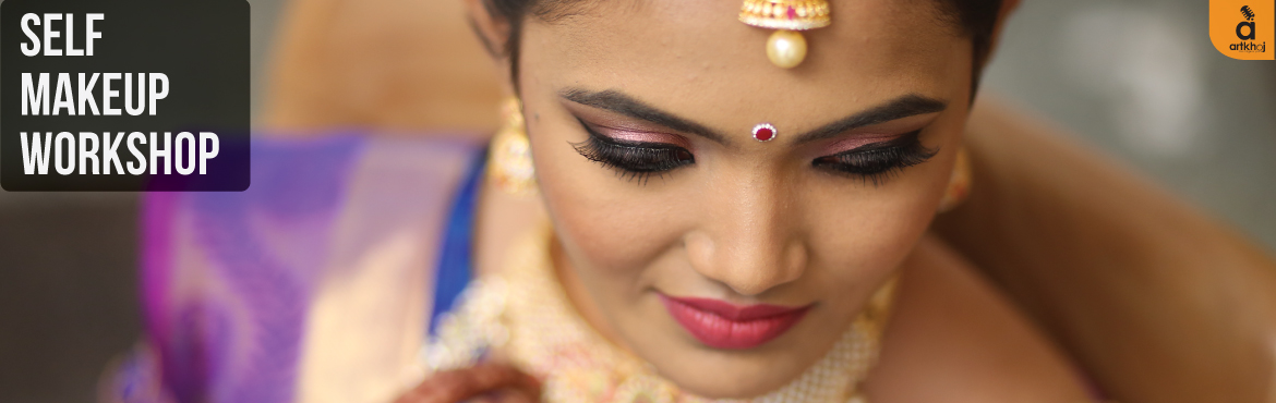 Book Online Tickets for Self Makeup Workshop - Beginner Level, Bengaluru. A exciting workshop forall the makeup lovers tounderstand the technique of self-makeupfollowed by hands-on session, conducted by Makeup Artist - Mamta Prasad. It is a beginner level workshop where you can master the tips, tricks and