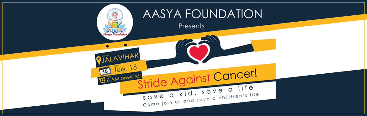 Book Online Tickets for Stride Against Cancer , Hyderabad. Event : Stride Against CancerHello everyone,It\'s been a while we are into people with our events.This time,we decided to take an active move in bringing the change for cancer sufferers.In our everyday life we have been coming across several ca