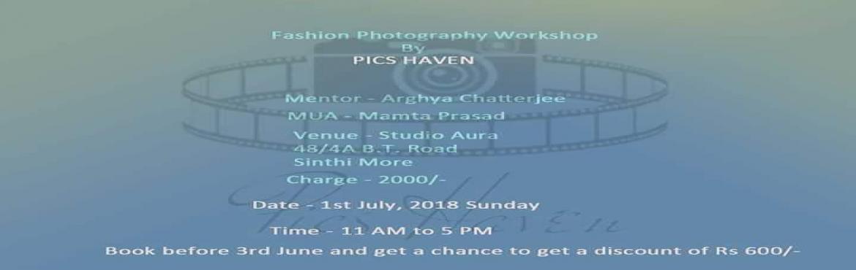 Book Online Tickets for Fashion photography workshop on basic li, Kolkata.