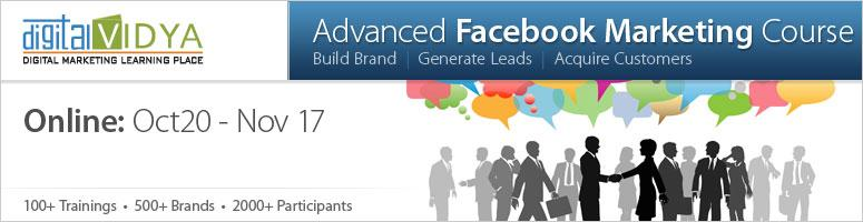 Advanced Facebook Marketing Online Course