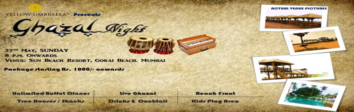Book Online Tickets for Gazal Night by the Bay, Mumbai. A Live Ghazal Concert by Ranjan Debrath. Ready to set the mood with his timeless Ghazals.  The concert promises to be a complete treat for music lovers. Ghazal Night will have a separate Kids party Zone where only ladies and kids (above age 5)