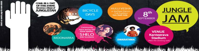 Jungle Jam - A Musical Protest By Swarathma, Moonarra &The Bicycle Days