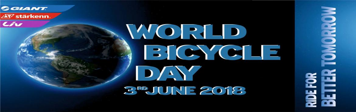 Book Online Tickets for World Bicycle Day, Mumbai.   On the Occasion of World Bicycle Day lets Ride and spread the vibe of Cycling for a Better Tomorrow.   Ride Details:-   Starting Point :- Giant Starkenn Cycling World, Khar West.Destination Point :- Worli Sea Face and Back to Khar.Ti