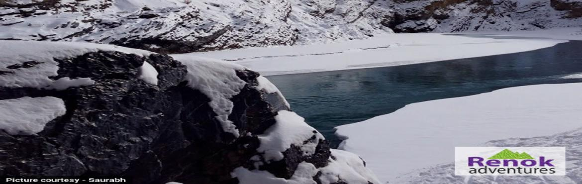 Book Online Tickets for Chadar Trek 2019 - Renok Adventures , Delhi. During the winter ,Ladakh, is isolated from the whole country due to heavy snowfall. The only way to Ladakh is by air from Delhi. In winter the temperature goes down to 3o below zero and the mighty Zanskar river freezes. This seven to eight day