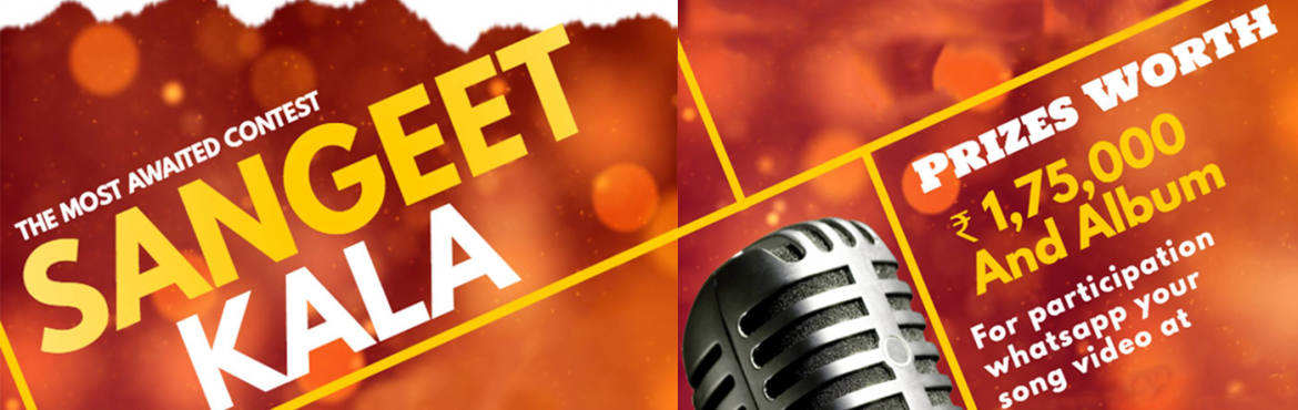 Book Online Tickets for Sangeet Kala - The Singing Contest, Noida. SangeetKala-TheSingingContest Mesmerize people with the magic of your melodious voice.Come, participateinan amazingsingingcontesttoday -SangeetKalabeing heldin&