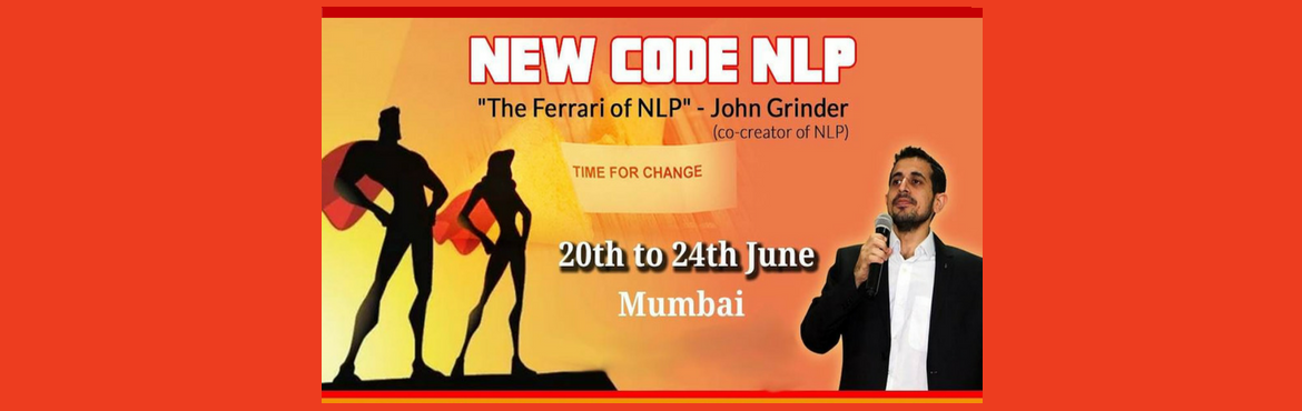 Book Online Tickets for New Code NLP in Mumbai, Mumbai. New Code NLP Your certificate will carry the prestigious signature of co-creator of NLP & New Code NLP – John Grinder as well as co-developers of New Code NLP – Carmen Bostic St Clair & Michael Carroll. Your certificate will hold