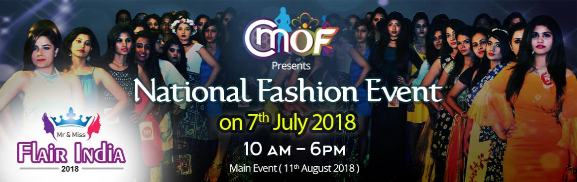 Book Online Tickets for Mr and Miss Flair India 2018 Title Conte, Hyderabad. All upcoming models are invited for auditions Mr and Miss Flair India 2018 You will get surprised by watching the efforts made by Hyderabad Events Industry to establish the event of Mr and Miss Flair India 2018 Click Here National fash