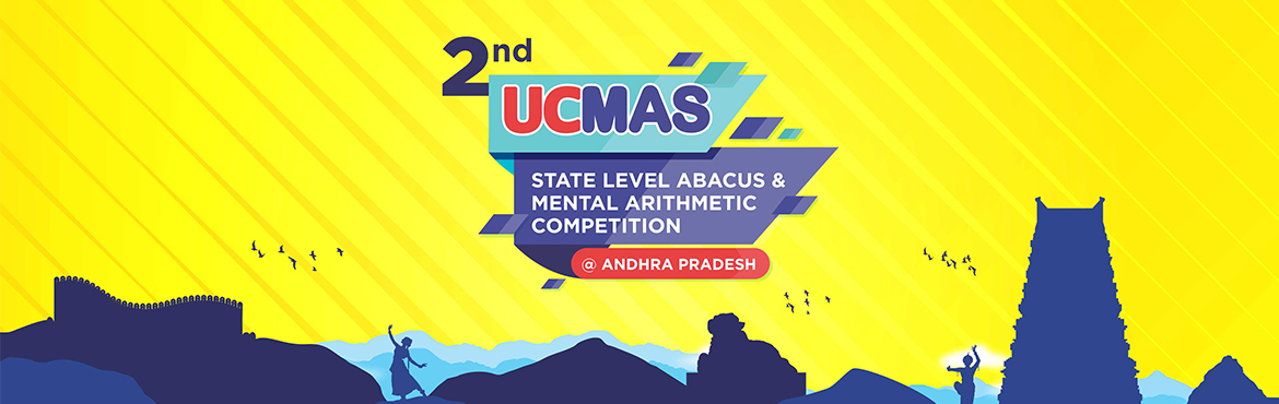 "Book Online Tickets for 2nd UCMAS Andhra Pradesh State Level Com, Guntur. The arena is set for Math Geniuses from across the state to compete with each other for the ultimate title ""Champion of Champions"" and finding out where they stack along with their peers in the State. UCMAS Children from across Andhra Pra"