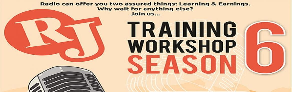 """Book Online Tickets for R J Training Workshop Season 6, Ahmedabad. Do you like to listen Radio? Want to become R.J.? Are you a person, who thinks """"out of the Box""""? Why waiting ? Come & Join """"R J Training workshop"""" at NIMCJ.The R J Training workshop will cover:1. Basics of Radio2. Un"""