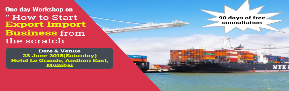 Book Online Tickets for LEARN HOW TO START EXPORT / IMPORT BUSIN, Mumbai.   ONE DAY PRACTICAL ORIENTED INTERACTIVE TRAINING SESSIONS ON EXPORT / IMPORT BUSINESS  Trainer :  Santhosh , Co - Founder , Learn Exim     A. Sessions    • A1. Session By Industry Expert, covering