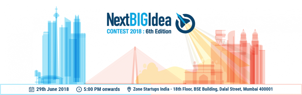 Book Online Tickets for Launch Event: 6th Edition Next BIG Idea , Mumbai. Are you a tech startup looking to enter the North American Market? We\'re on the lookout to identify India\'s top innovative tech startups to enter the Next BIG Idea Contest. The Next BIG Idea Contest is a Gateway for Indian Startups to the North Ame