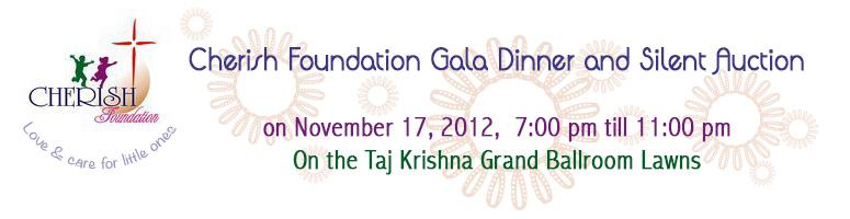 Cherish Foundation Gala Dinner and Silent Auction