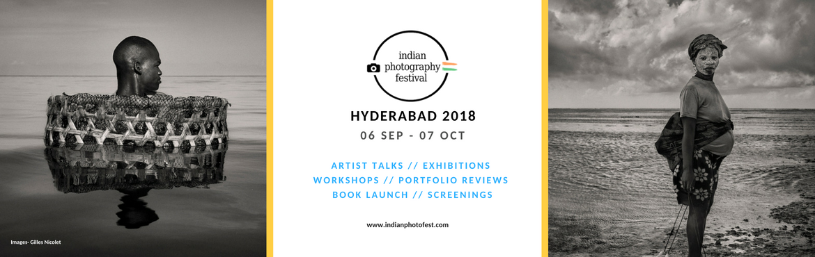 Book Online Tickets for Indian Photography Festival - HYDERABAD , Hyderabad. The Indian Photography Festival (IPF) - Hyderabad, a Not-For-Profit initiative of Light Craft Foundation, is an international photography festival, showcasing a wide range of photography from India and around the globe with a series of events, includ