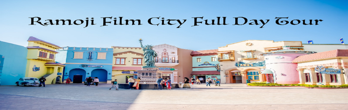 Book Online Tickets for Ramoji Film City Bus Tour , Hyderabad. In pleasant days Ramoji Film City is big, natural and artificial lovely film town in the world. Ramoji Film City established placed to metropolitan town Hyderabad close to at Hayathanagar. Ramoji Film City is sort of 30 to 40 kilometers to of Hyderab