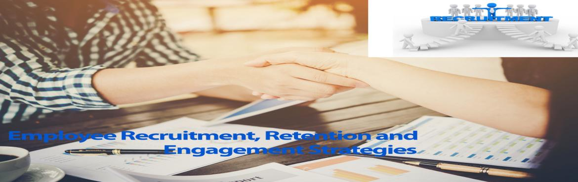 Book Online Tickets for Employee Recruitment and Retention Strat, Aurora.   Mark your calendar for this insightful webinar that offers some exclusive knowledge aboutpractices and efforts employers must make in recruitment, supervision and engagement of employees in routine and unglamorous jobs. The webinar also discus