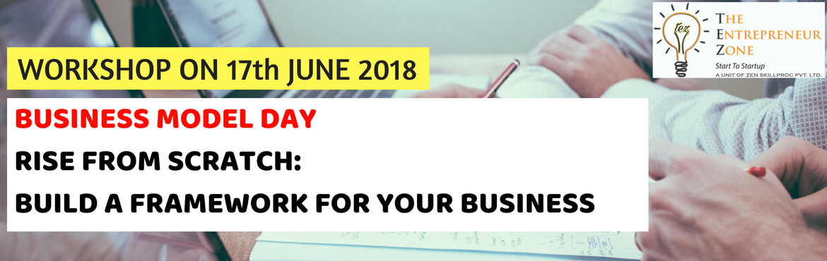Book Online Tickets for DESIGN YOUR VENTURE WITH BMC, Hyderabad. 1 Day Workshop onRISE FROM SCRATCH:BUILD A FRAMEWORK FOR YOUR BUSINESSContents:1. Identifying your USP,2. Identifying Key Resources & Partners,3. Building a Business Model Canvas DATE: 17th June 2018 TIME: 10 AM to 05 PM VENUE: CMSD Building, Uni