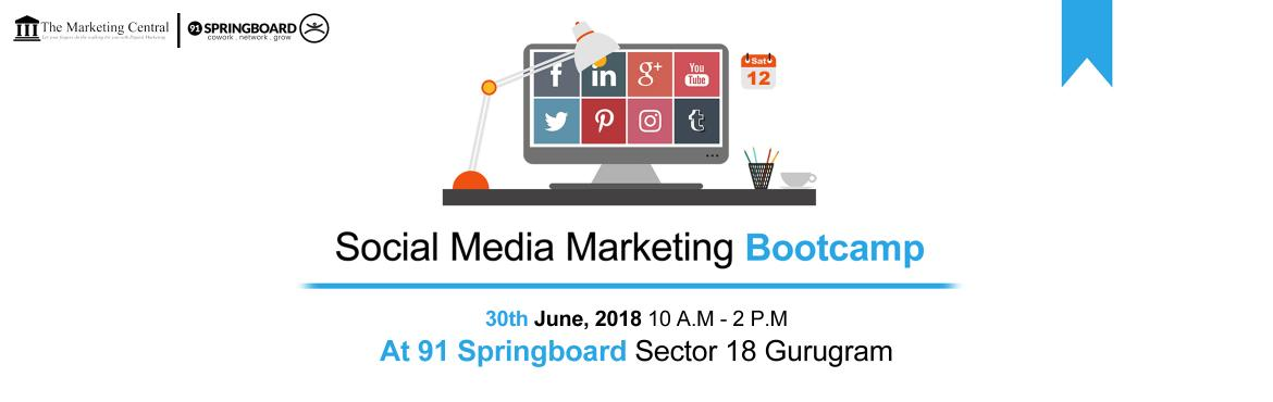 Book Online Tickets for Social Media Marketing Bootcamp, Gurugram. The Social Media Marketing Bootcamp is an Exclusive Workshop for Entrepreneurs to Discover Everything they Need to Know to leverage the Power of Social Media Marketing to Successfully Grow their Business Online. Here is What you will learn:- ➤ What