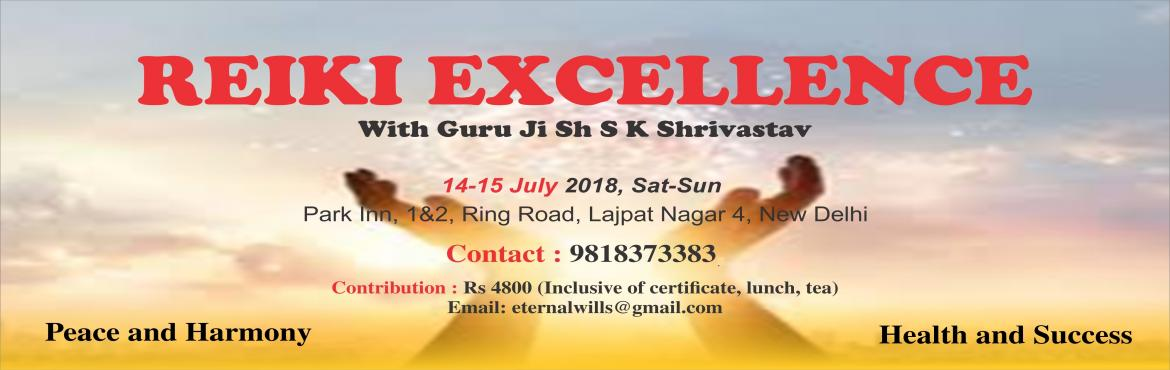 Learn Reiki in pure form from renowned Reiki grandmaster Sh S K Shrivastav. Apply Reiki to you and to your life situations. Transform your career an