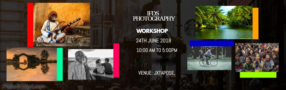 Book Online Tickets for IFDS Photography Workshop, Hyderabad. Are you looking to learn, Basic of Photography or Looking to learn, how to operate the DSLR Camera in different natural lighting conditions. Primary, Know the basics of Photography well, that is, your image compositions Visualization  Second, Know yo