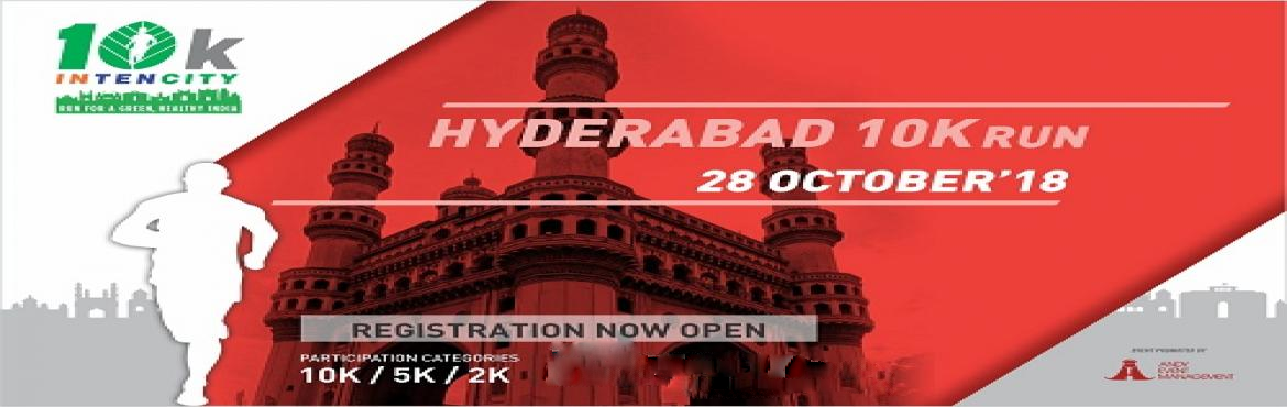 Book Online Tickets for HYDERABAD 10K INTENCITY RUN, Hyderabad. With an overwhelming support in the first season of 10K Intencity, We are all set for the secondseason. The details of the races are as below -Race Category The event in each city will have following categories – (1) OPEN MEN (18 yrs – 40