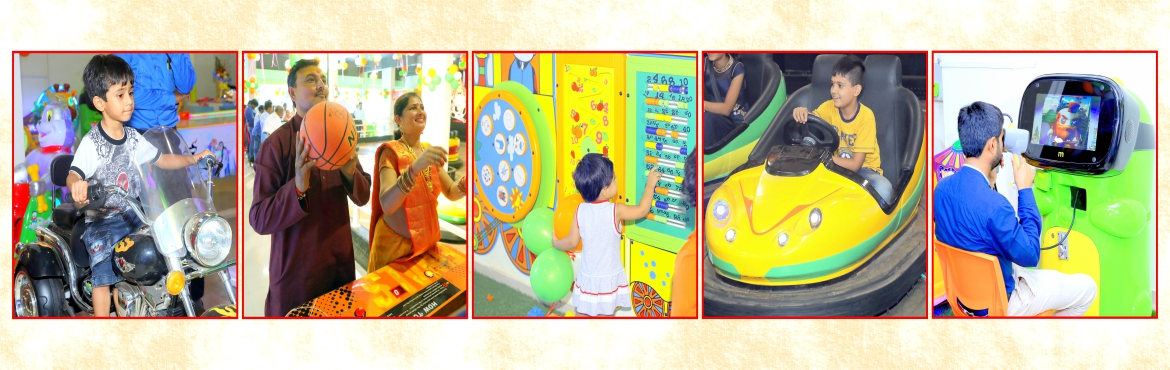 Book Online Tickets for Play Unlimited Games at Majama Game Zone, Ahmedabad.  Game Zone Timings: Monday to Saturday 4PM to 10PM , Sunday 11AM to 10PM, Thursdays Off  Recommended Age: All age groupsNewly opened Majama Game Zone boasts of being the biggest game zone in the Shahibaug area of Ahmedabad. They hav