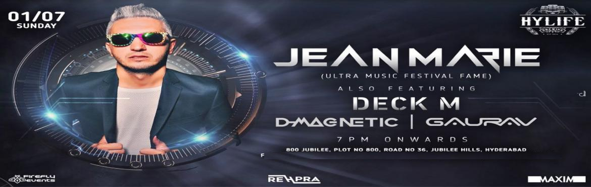Book Online Tickets for Jean Marie Live at Hylife, Hyderabad. On 1st July, we bring you Jean Marie at HyLife Brewing Co. for a Sunday Fiesta!After his Ultra Music Festival performance and his releases with Flo Rida and Sean Paul on Spinnin' records, Jean Marie is all set to face-off at HyLife Brewin