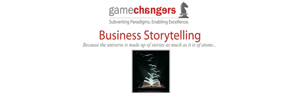 Book Online Tickets for Business Storytelling, Mumbai. Stories, when told well, make us think and feel at the same time. They stick in our minds and help us remember ideas and concepts in a way that numbers and text on a slide with a bar graph don't.   An enduring paradox today in business is