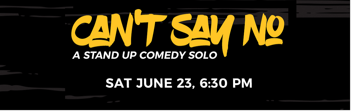 Book Online Tickets for Cant Say No , New Delhi.  The docile comic Rajat Chauhan, has always found it troublesome to say NO! Find out in his 60 minutes solo, as Comedy Munch & Innov8 brings you his hilarious story justifying the title which is not only funny but relatable too!
