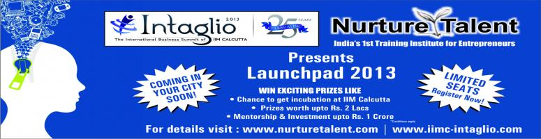 Nurture Talent and Intaglio - IIMC present Zonal Entrepreneurship Workshop + Contest in Bhubneshwar