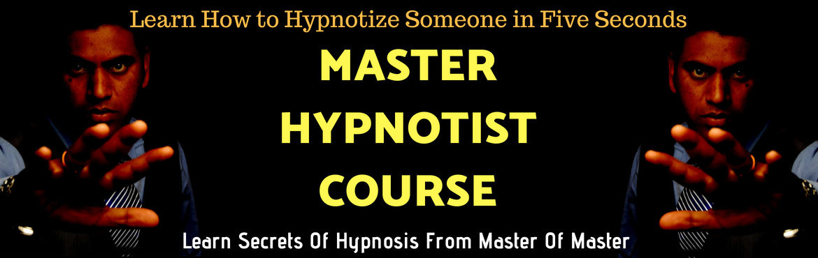 Book Online Tickets for Master Hypnotist Course, Pune. Master Hypnotist Workshop (Includes Self Hypnosis + Hetro Hypnosis+Stage Hypnosis)   HYPNOSIS is a powerful and natural ability available to everyone; easy to learn and use. On this stimulating weekend you will learn the most powerful tool