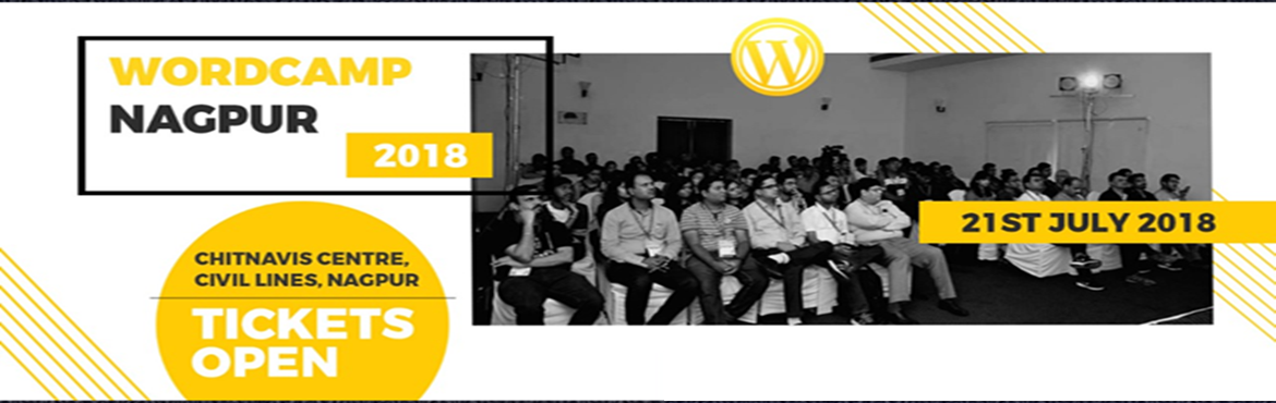 Book Online Tickets for WordCamp Nagpur 2018, Nagpur.  WordCamp Nagpur 2018 is Officially on scheduled on 21st July 2018 at Chitnavis Centre, Civil Lines, NagpurWe warmly welcome everyone for One Day WordCamp filled with talks, workshops and much more, followed by Contributor day on Sunday.
