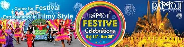 Book Online Tickets for Ramoji Festive Celebrations, Hyderabad. Welcome to Ramoji Festive Celebrations: