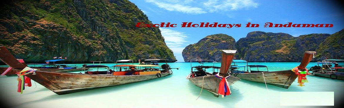 Book Online Tickets for Book Delightful Andaman Holiday Packages, Port Blair. Event Details: Andaman Holiday Packages 2018 Event Tag: Andaman Tour TravelEvent Name: Andaman Holiday packagesEvent Date:1st July 2018 to 5th July 2018Event Duration: 5 DaysLocation: Andaman and Nicobar IslandState: Andaman and the Nicob