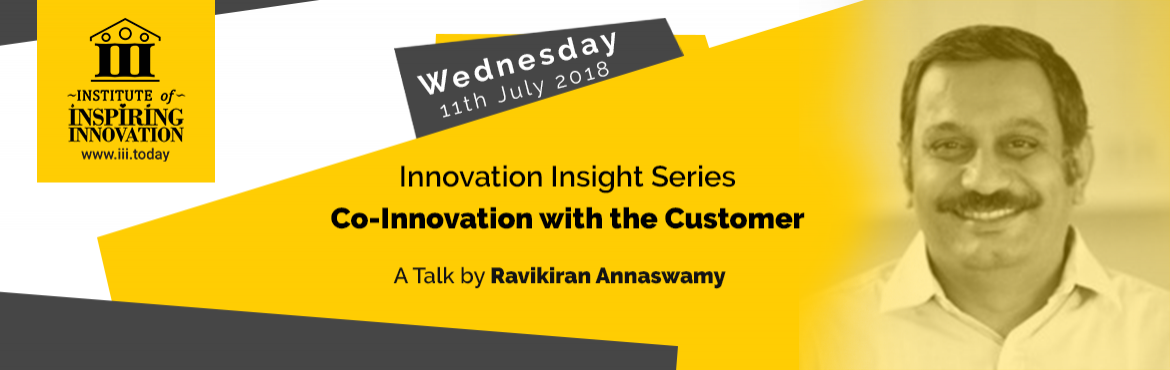Book Online Tickets for Innovation Insight Series - Co-Innovatio, Bengaluru. A free 1-hour talk to help innovation aspirants, entrepreneurs and intrapreneurs get inspired by the stories of innovation journeys from individuals who have been through it.Participants will be able to:   Embark into the exciting world of innovation