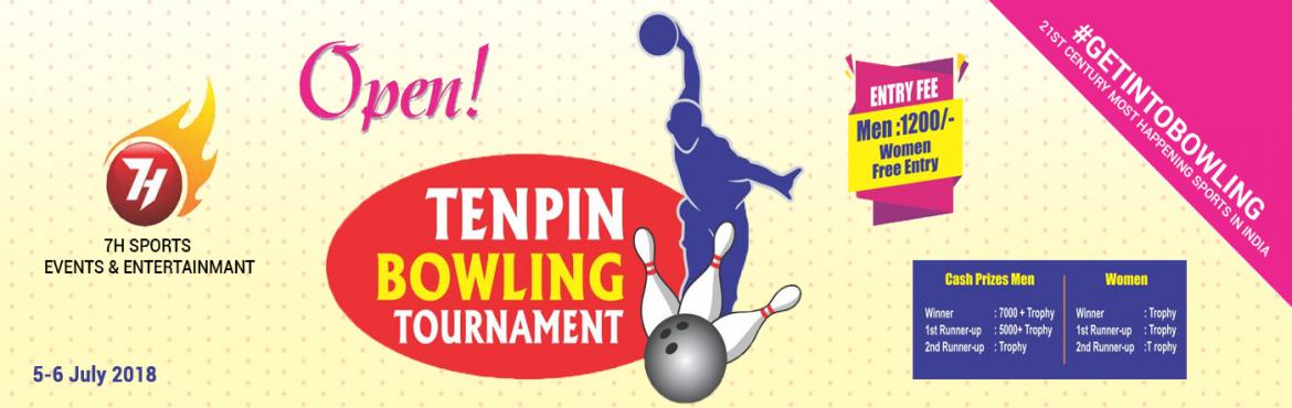 Book Online Tickets for TENPIN BOWLING TOURNAMENT, Hyderabad. Forget Football and Cricket, it's time for a Bowling Tournament!!       7H Sports Events & entertainment present TENPIN BOWLING TOURNAMENT for all bowling enthusiasts.  Coming to Funcity, Inorbit Mall in Hyderabad on Thu