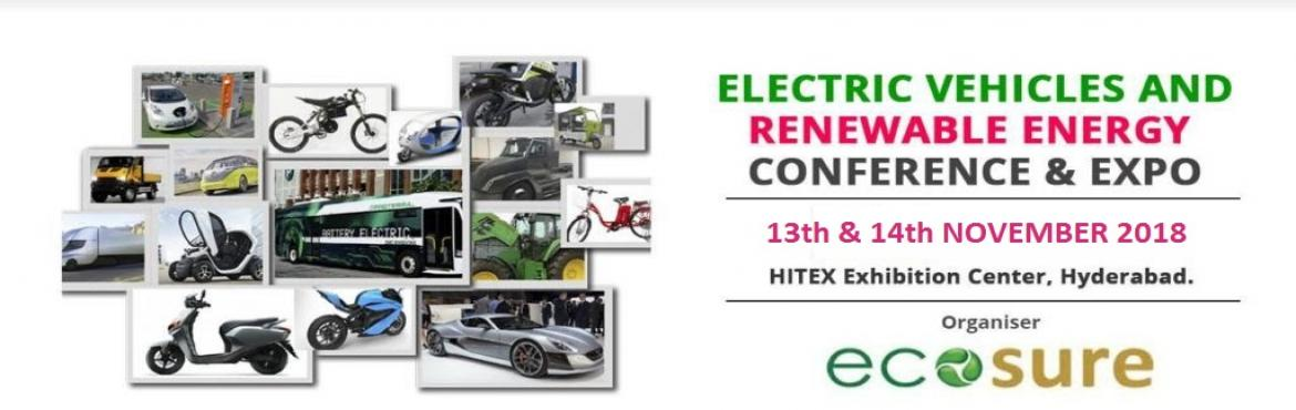 Book Online Tickets for EVREX , Hyderabad. EVREX 2018  ELECTRIC VEHICLES AND RENEWABLE ENERGY CONFERENCE & EXPO          SPEAKERS        Mr. Mahesh Babu CEO Mahindra Electric      Mr. Ayush Lohia CEO Lohia Auto      Mr. Manuj Khurana CEO NewMo      Mr. P. Vinay Kumar MD –