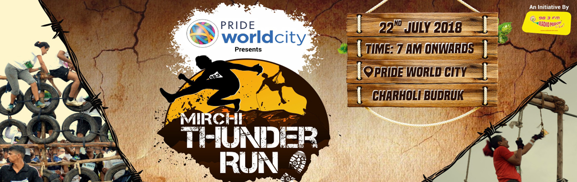 Book Online Tickets for Mirchi Thunder Run, Pune.  Dear Participant, thank you for registering with us. It is mandatory to collect your bib number, T shirt and application download activity at Liberty Square, Phoenix Marketcity.  Organisers will not ne responsible if you come on 22nd morning an