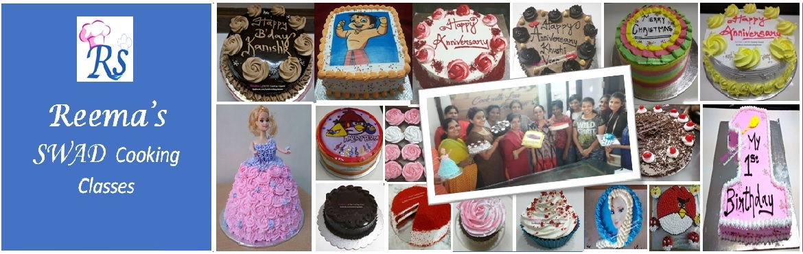 Book Online Tickets for Cake Baking and Frosting Workshops, Chennai. Reema\'s Swad Cooking Classes schedules vegetarian and eggless Cake Baking Class...