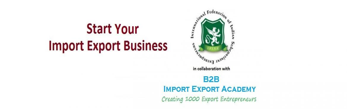 Book Online Tickets for Mega Import Export Business Launcher PUN, Pune. What you can expect?  Why Import Export Business? Establishing an ImportExport Business Export Procedure Licensing Requirements Current Opportunities Risks in Import Export Government Policies and Support Case Study in Agriculture or Textile Sector S
