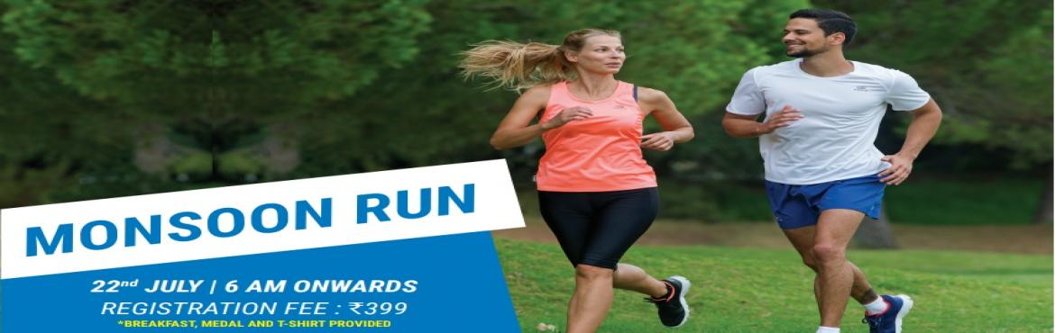 Book Online Tickets for Monsoon Run, Hyderabad.   This Monsoon come out and enjoy outdoor and not indoor. More than 30% of the city's population is obese due to lack of daily physical activities. Why let your hectic schedule hamper your activities? Join the Decathlon Monsoon Run 2017 to