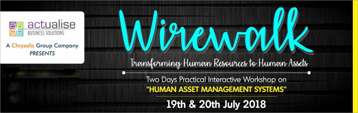 Book Online Tickets for Wirewalk 3.0, Pune. Wirewalk Focuses On Training The Ha Team The Beautiful Art Of Striking The Right Balance Between The Organization And Employee Needs At The Same Time Ensuring Organizational Goals Being Achieved.