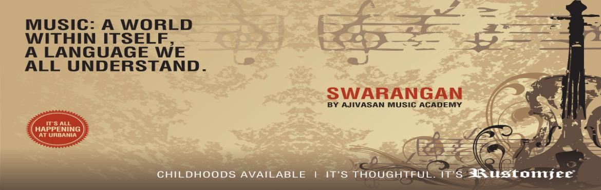 Book Online Tickets for Swarangan - A recital of classical music, Thane. William Shakespeare wrote, 'if music be the food of love, play on,' and indeed this is how most people feel when they hear the mellifluous strains being extracted from an instrument by a trained musician. Music is such an important part o