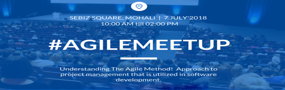 Book Online Tickets for Agile Meetup- for beginner software deve, Mohali. Agile software development is based on principles defined by the Agile Manifesto; a disciplined project management outline that is conducive to dynamic inspection and adaptation. Agile methods include many product development frameworks such as Scrum