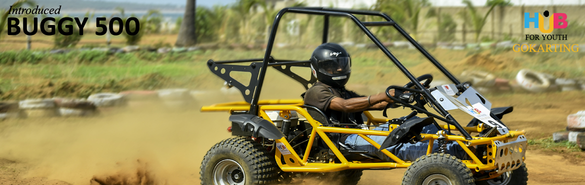 Book Online Tickets for Buggy 500 at Hub For Youth, Visakhapat. HUB FOR YOUTH (Go Karting) is an adventure hub situated on the beach road towards the famous Thotlakonda. You cannot miss them because their long Go-Kart track is easily visible on the road. It is also the longest karting track in India.Best ComboInc