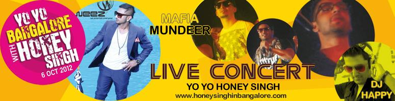 Book Online Tickets for Yo Yo Honey Singh Live Concert - Bangalo, Bengaluru. Yo Yo Honey Singh is a Punjabi rapper turned music producer is performing Live in Concert for the very first time in Bangalore, Karnataka.