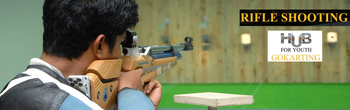 Book Online Tickets for Rifle Shooting at Hub For Youth, Visakhapat.   Are you an avid shooter? Does your heart craves for aim, target  games? Here you go - xperience the fun of shooting with Rifle shooting at one and only HubForYouth. Come visit us today